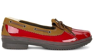 UGG Women's Haylie Red Loafer 5.5 B ...