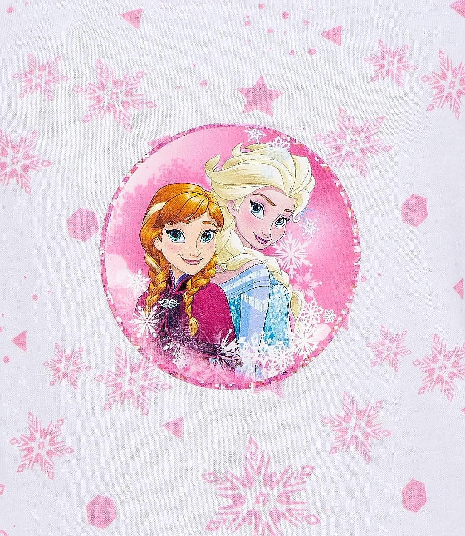 pink Disney Die Eisk/önigin ELSA /& Anna M/ädchen 2 er Pack Unterw/äsche-Set