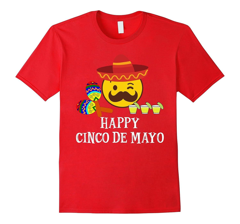 Amazon.com: Happy Cinco De Mayo T-Shirts -Fiesta Emoji Tequila Shots Tee: Clothing