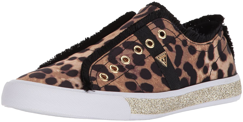 GUESS Women's MARTIN2 Sneaker B074VKSVPP 10 B(M) US|Brown