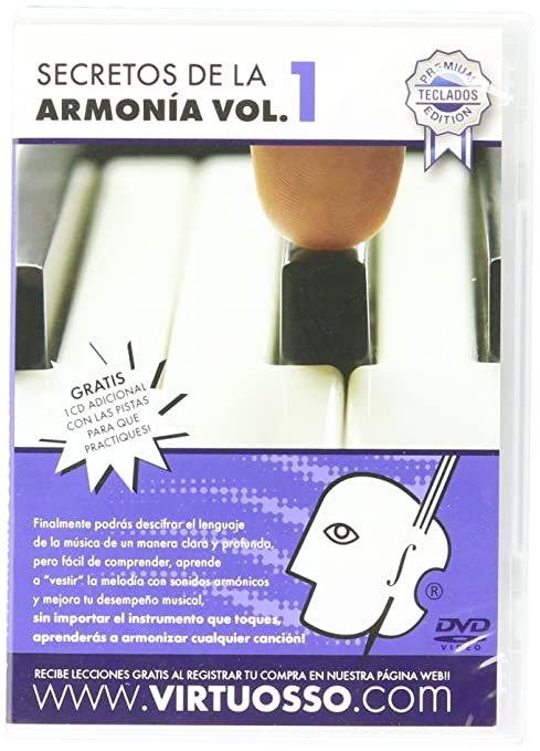 Amazon.com: Virtuosso Harmony Method for Musical Keyboard Vol.1 (Curso De Armonía En Teclado Vol.1) SPANISH ONLY: Musical Instruments