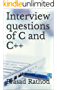 Interview questions of C and C++ (English Edition)