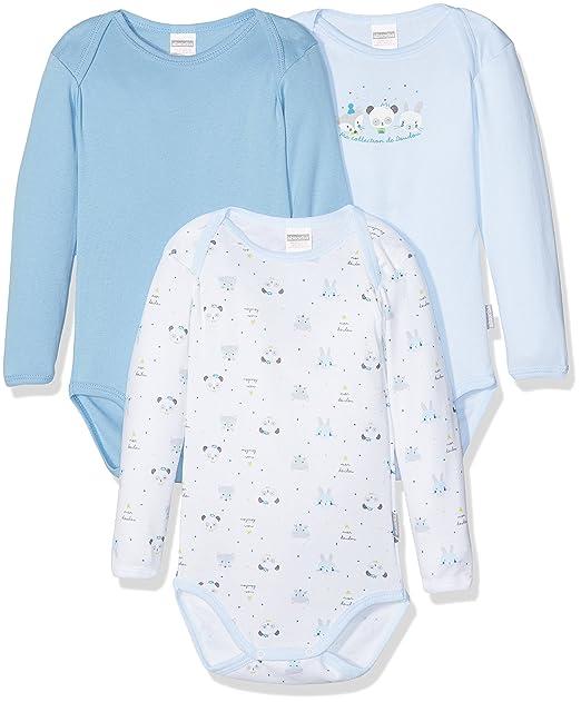 Absorba 6K60106-RA, Mono para Bebé, Azul (bleu ciel), 3