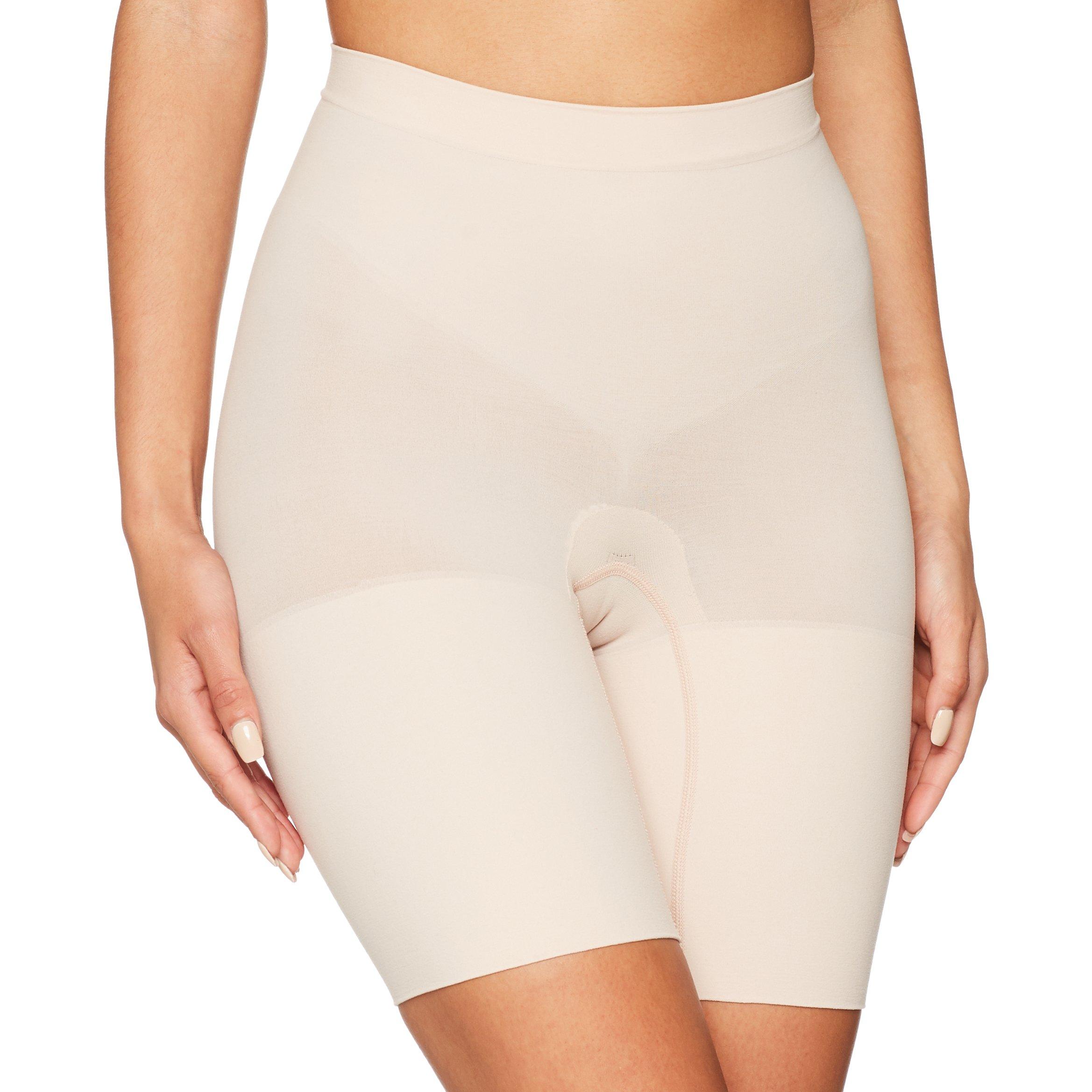 SPANX Power Series Medium Control Shorts, 2X, Soft Nude by SPANX