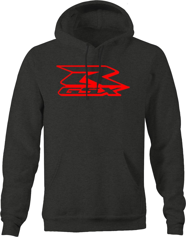Suzuki hayabusa Black//red motorbike motorcycle hoodie hooded top clothing