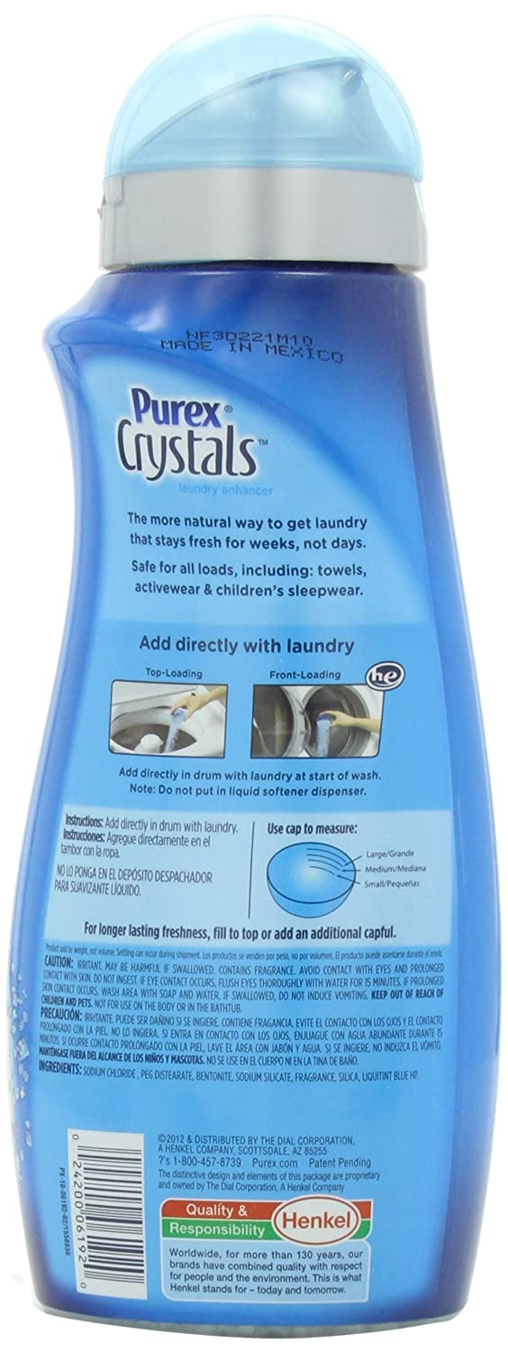 Amazon.com: Purex Crystals Laundry Enhancer, Fresh Spring Waters ...