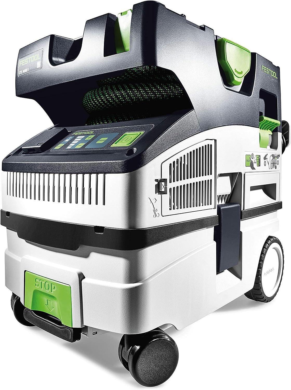 Festool CTL Mini I CLEANTEC-Aspirador 574840, Negro y verde, Size ...