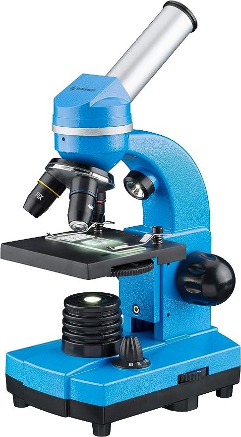 Bresser BIOLUX Sel - Microscopio para niños y Adultos (con Soporte ...