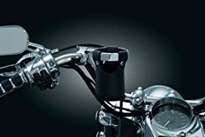 Kuryakyn 1459 Motorcycle Handlebar Accessory: Replacement Beverage Carrier/Drink/Cup Holder without Clamp/Mount, Black