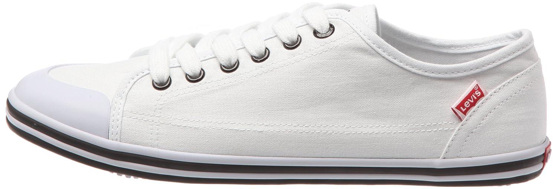 Levis 214886-733-151 214886-733-151_Blanc - Zapatillas de Tela para Hombre, Color Blanco, Talla 45: Amazon.es: Zapatos y complementos