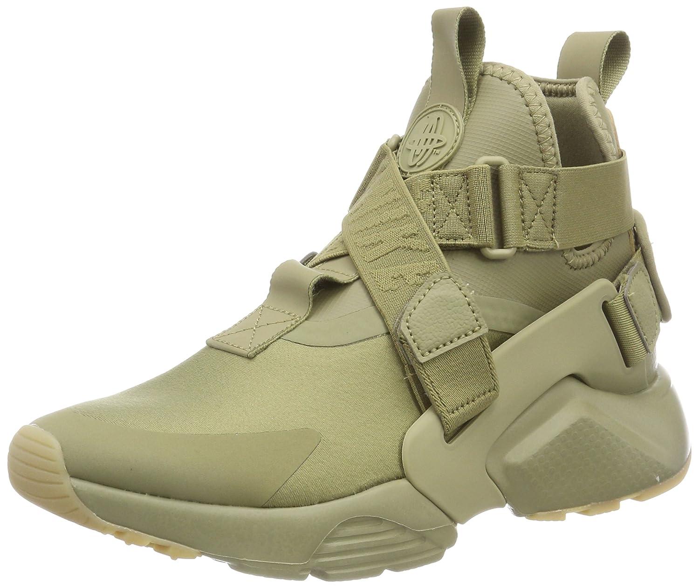 Nike Damen Air Huarache City Sneaker Grün Mehrfarbig (Neutral Olive / Neutra 200)