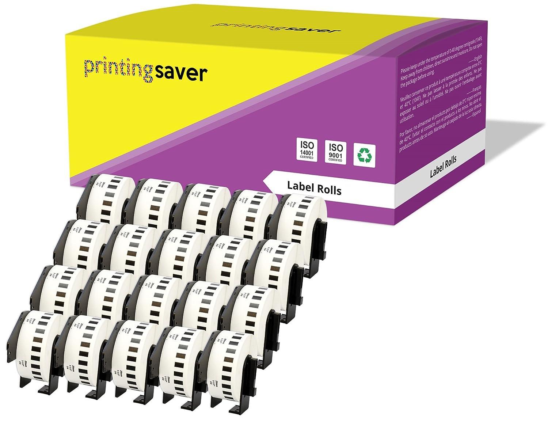 10 Compatibles Rollos DK22210 DK-22210 29mm x 30.48m Etiquetas continuas para Brother P-Touch QL-500 QL-550 QL-560 QL-570 QL-700 QL-720NW QL-800 QL-810W QL-820NWB QL-1050 QL-1060N QL-1100 QL-1110NWB