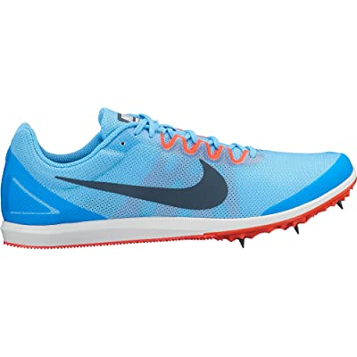 Nike Men's Zoom Rival D 10 Track and Field Shoes(Blue/Red, 7 D(M) US): Sports & Outdoors