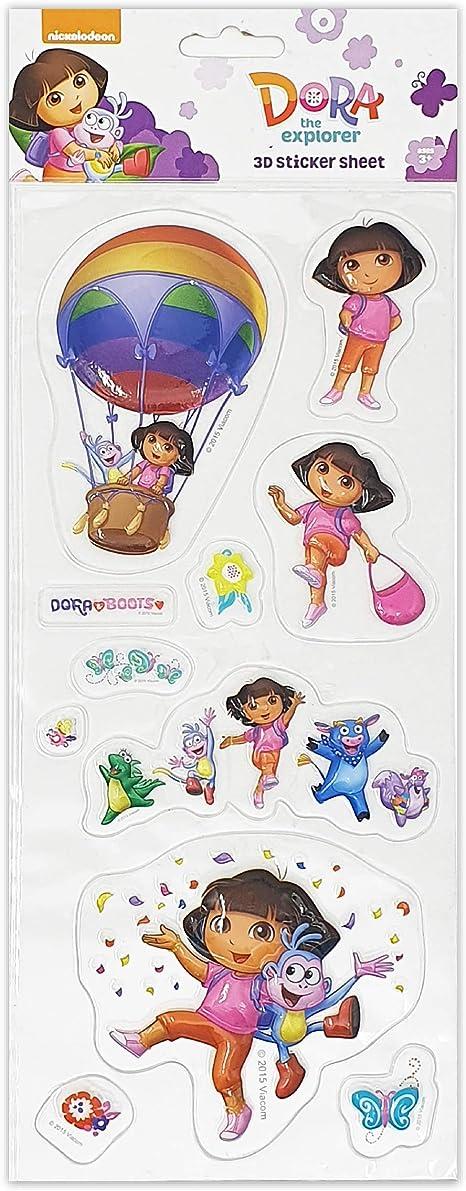 Dora l/'exploratrice STICKERS 3D 4001