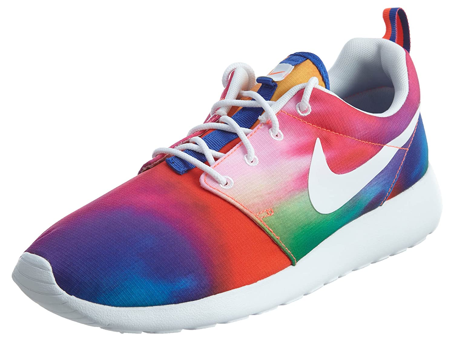 new arrival 9fe7e fe49b Nike Rosherun Print Mens Running Shoes 655206-518 Court Purple White-Total  Crimson 13 M US  Buy Online at Low Prices in India - Amazon.in