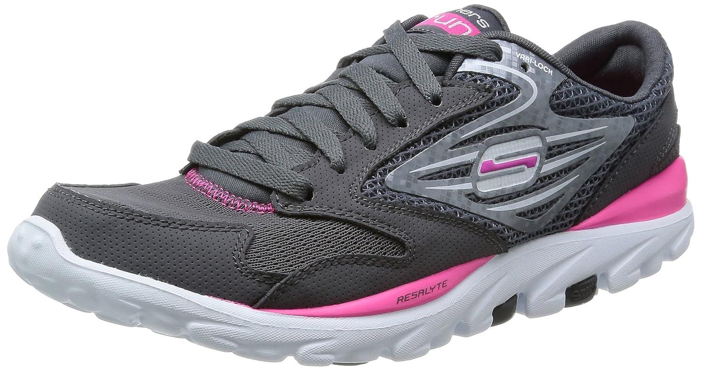 5661f3e94b68 Skechers Womens Go Run Running Shoes Gray Grau (CCHP) Size  2.5   Amazon.co.uk  Shoes   Bags