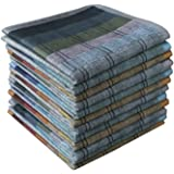 Mens Cotton Hankerchifs Classic Hankies Assorted