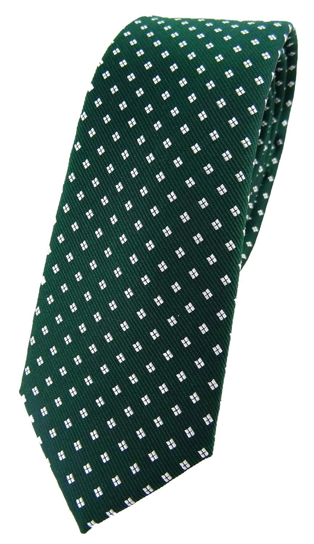 TigerTie - Corbata - Lunares - para hombre verde grün dunkelgrün ...