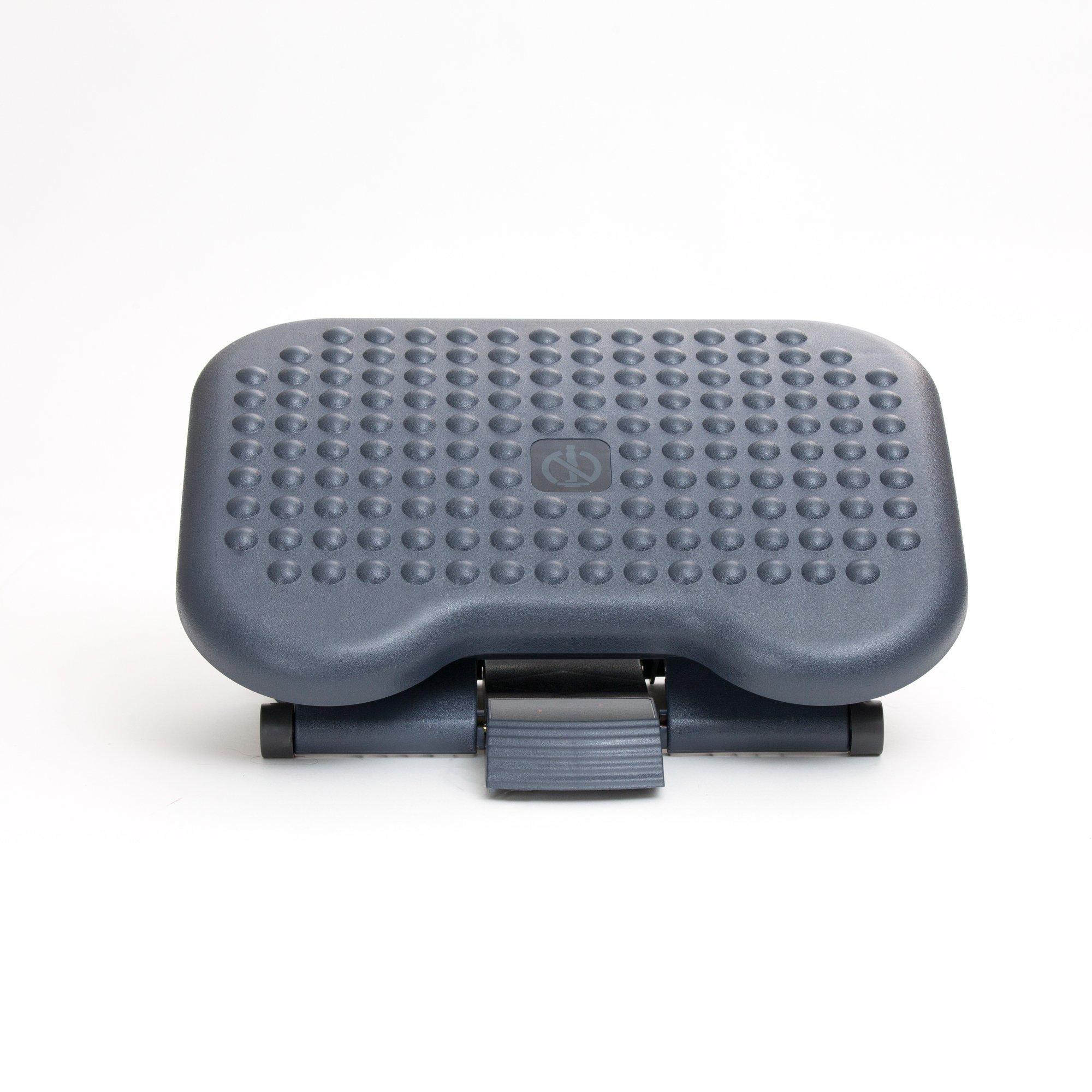 Mind Reader 2FTREST-BLK 2 Pack Adjustable Height Ergonomic Foot Rest, Black by Mind Reader (Image #2)