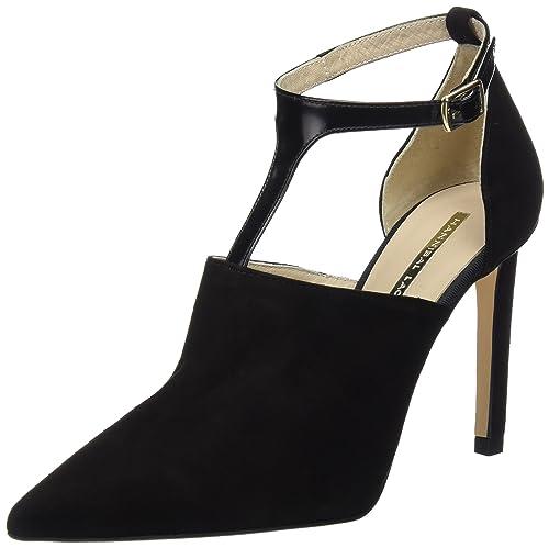 HANNIBAL LAGUNA CORA, Zapatos de Tacón Mujer, Negro (ANTE ...