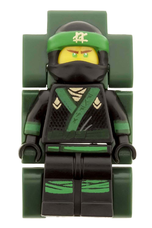 Reloj modificable infantil con figurita de Lloyd de LA LEGO NINJAGO PELÍCULA 8021100