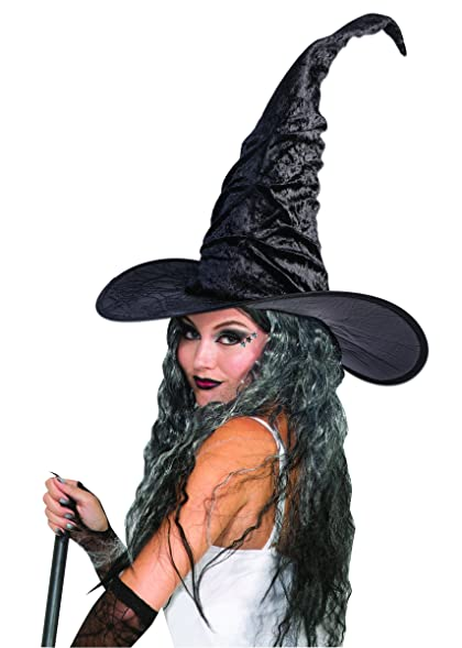 deluxe vintage witch hat 18 tall perfect complement for a halloween costume