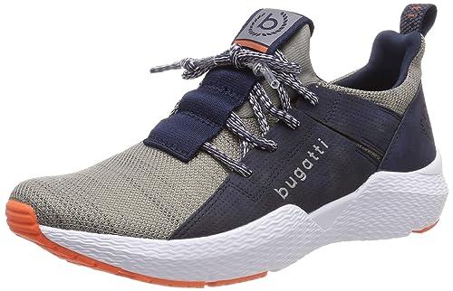 27adff6594abd9 bugatti Herren 341730616900 Slip On Sneaker  Amazon.de  Schuhe ...