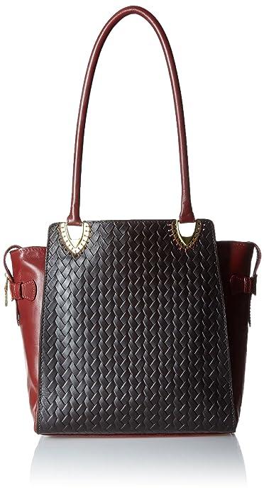 Hidesign Women s Shoulder Bag (Brown)  Amazon.in  Shoes   Handbags 331fd5fa93