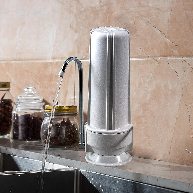 NU Aqua Premium Countertop Water Filter in real life