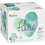Pampers Aqua Pure 6X Pop-Top Sensitive Water Baby Wipes - 336 Count