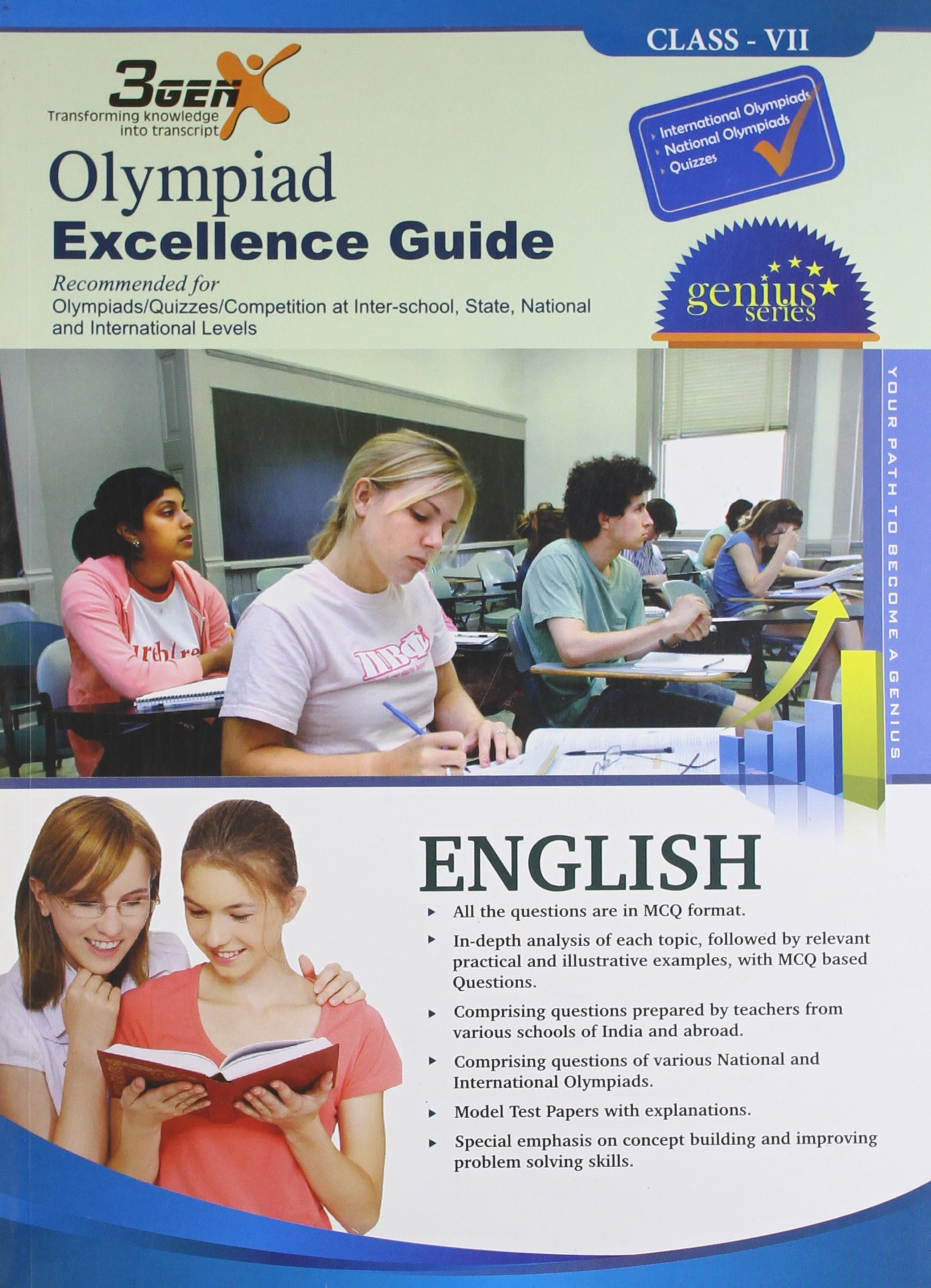 Buy Olympied Excellence Guide for English Class 7 Book Online at Low Prices  in India | Olympied Excellence Guide for English Class 7 Reviews & Ratings  ...