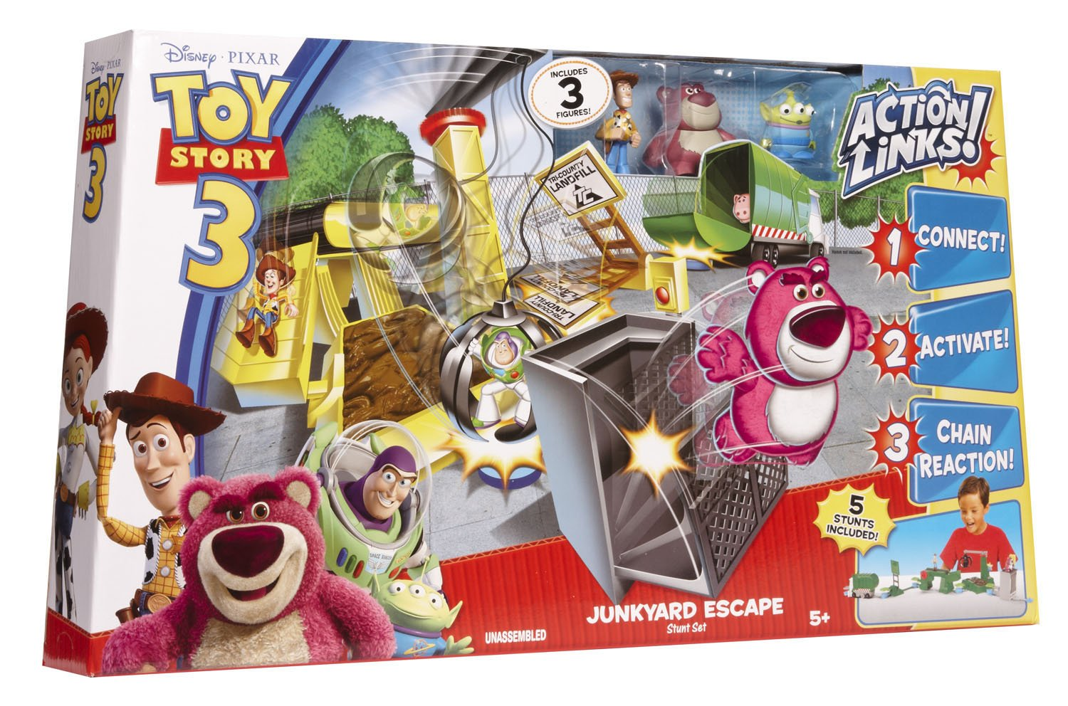 amazon com toy story action links junkyard escape toys u0026 games