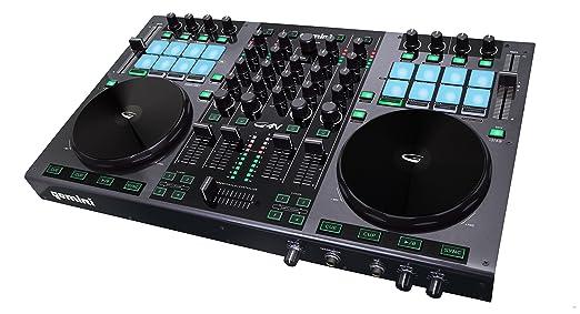 8 opinioni per GEMINI G4V usb midi DJ controller 4 canali scheda audio integrata