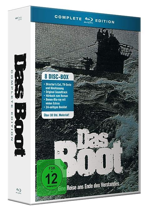 Das Boot - Complete Edition + Bonus-BD + Soundtrack CD Hörbuch Blu-ray Alemania: Amazon.es: Jürgen Prochnow, Herbert Grönemeyer, Klaus Wennemann, ...