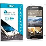 HTC Desire 828 Mivi Military Grade Anti-Scratch Tempered Glass Screen Guard (0.3mm, Clear)