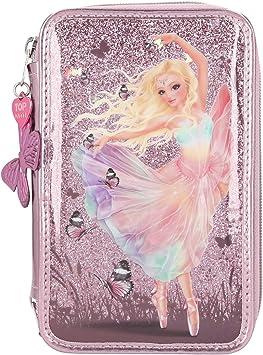Depesche Estuche de lápices Fantasy Model Ballerina de 3 vías: Amazon.es: Juguetes y juegos