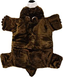 Marshall Small Animal Bear Rug, 24 by 20 Inches, Fleece Bed and Tunnel Toy for Ferrets and Other Small Pets
