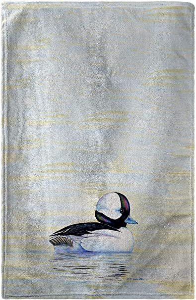 Betsy Drake Bufflehead Duck Beach Towel Home Kitchen