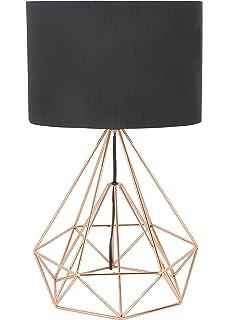 Amazon deco 79 58661 asymmetrical metal wire table lamp copper deco 79 50589 metal wire table lamp black greentooth Choice Image