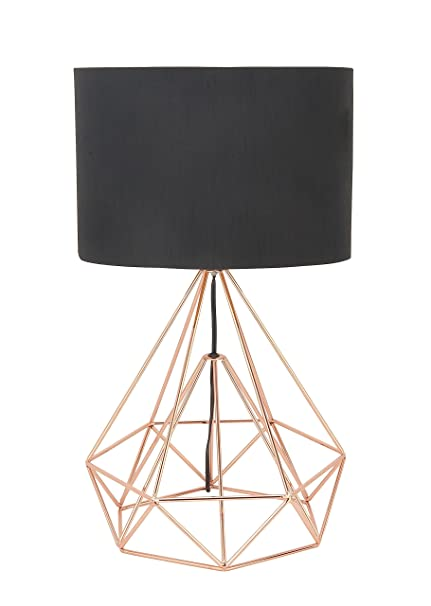 Amazon deco 79 50589 metal wire table lamp black home kitchen deco 79 50589 metal wire table lamp black greentooth