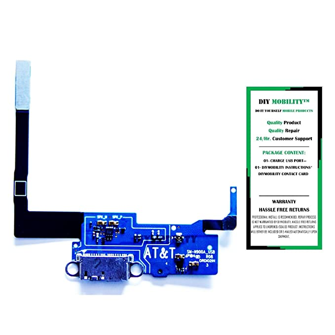 Amazon samsung galaxy note 3 replacement n900a att charging amazon samsung galaxy note 3 replacement n900a att charging port flex cable connector with instructions diymobility cell phones accessories solutioingenieria Images
