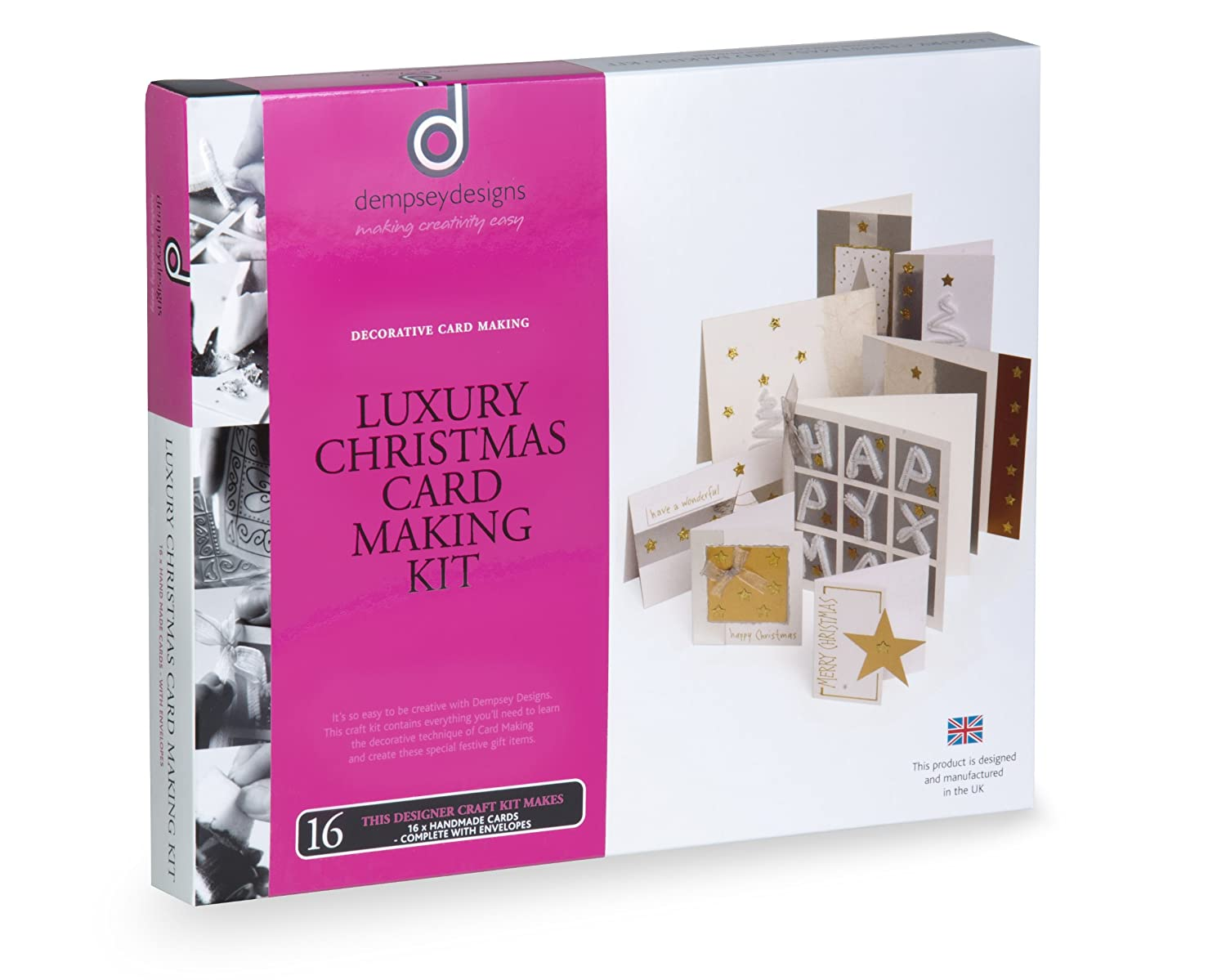 Dempsey Designs Luxury Christmas Card Making Kit