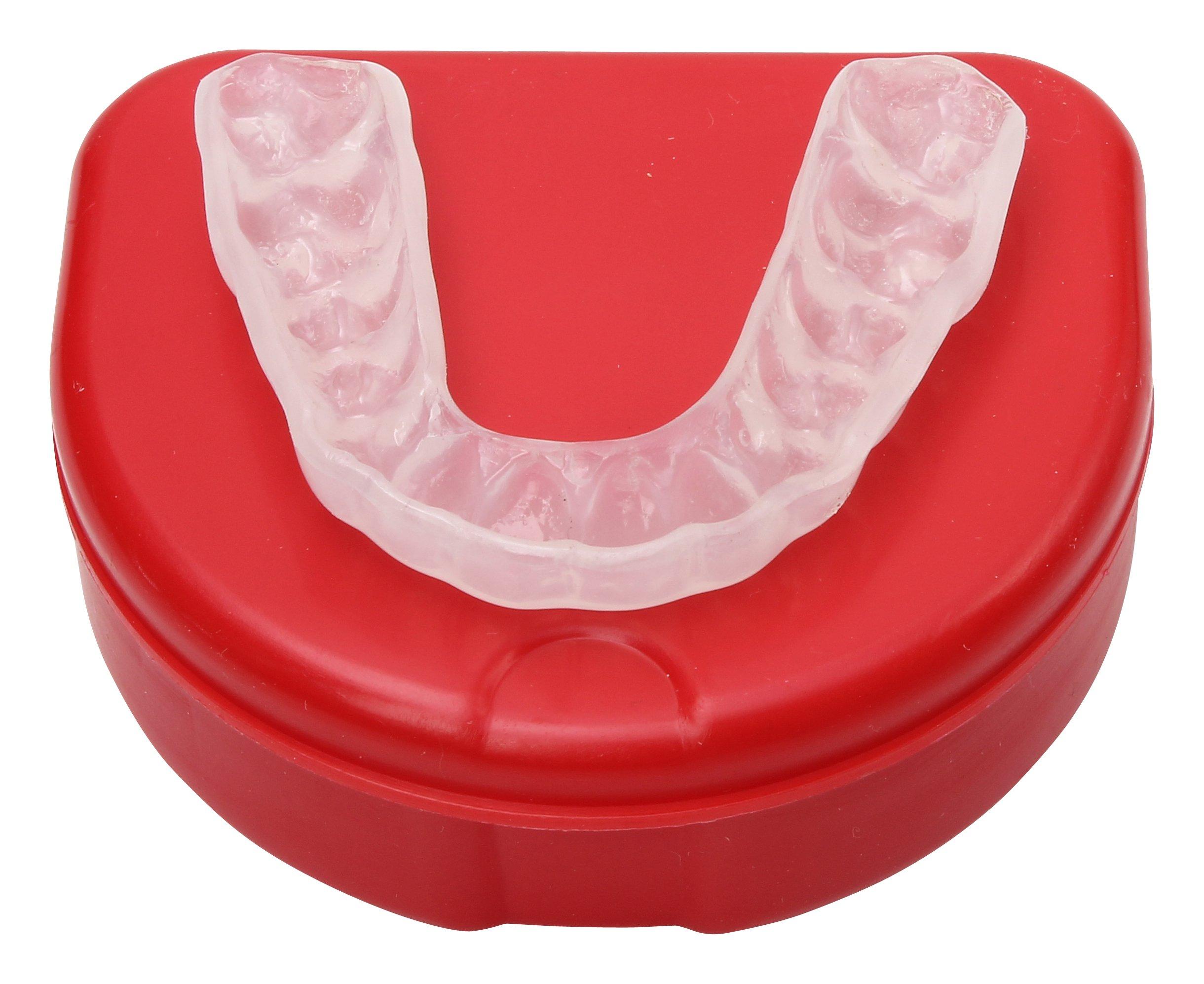 Custom Flexible Super Hard Dental Night Teeth Guard (Splint for Bruxism) by SportingSmiles (Image #1)