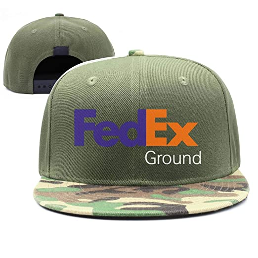 Caprobot iD Mens Womens FedEx Ground Casual Adjustable Hip-hop hat
