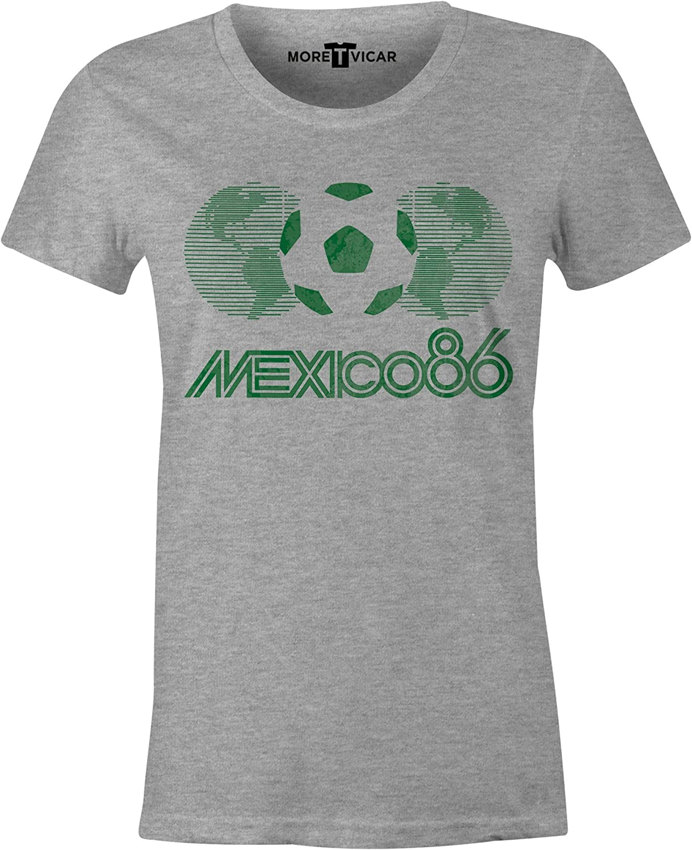 Ladies Football World Cup T Shirt More T Vicar Mexico 86 Vintage T Shirt