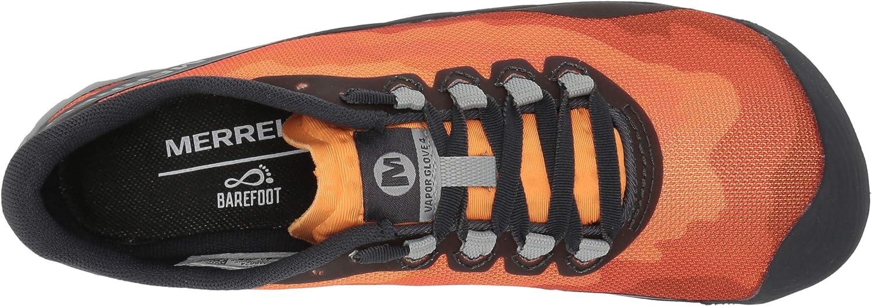Orange 38.5 EU Flame Merrell Damen Vapor Glove 4 Hallenschuhe