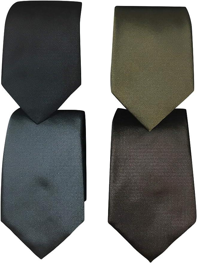 Hugo Boss Mens Gift Set 4 Ties w//Gift Box