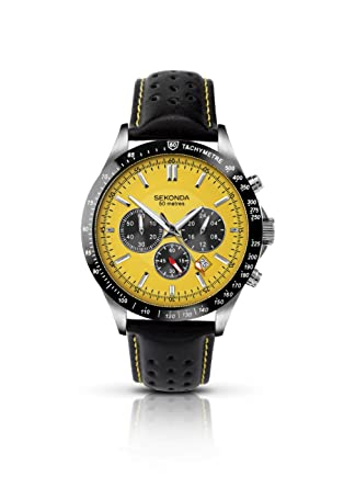 fer item chronograph image yellow watches dial panerai granturismo ferrari