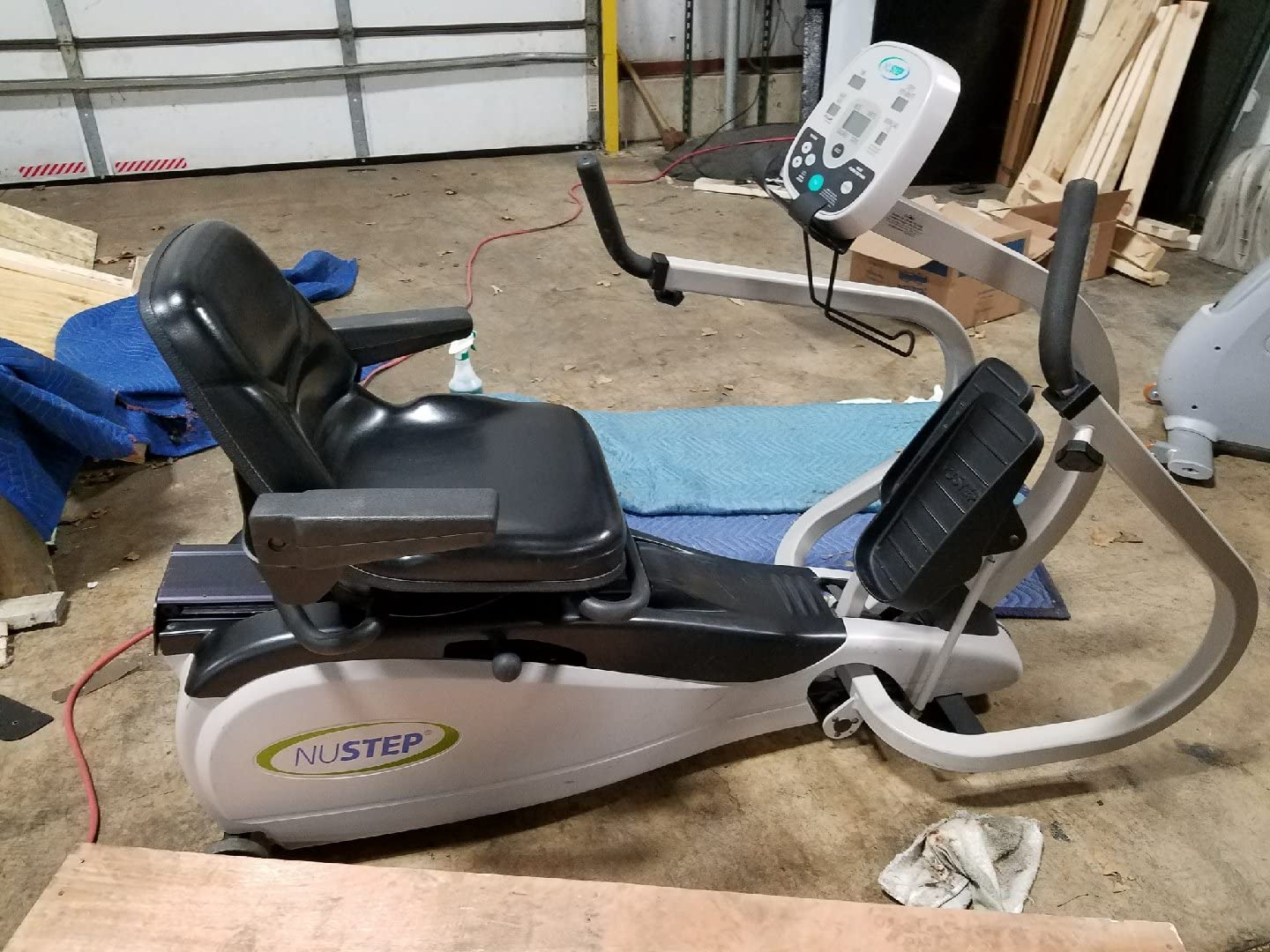 Nustep TRS 4000 Recumbent Cross Trainer