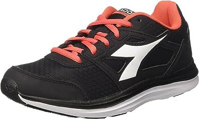 Diadora Heron Win W, Zapatillas de Running para Mujer, Negro (Nero/Bianco), 38 EU: Amazon.es: Zapatos y complementos